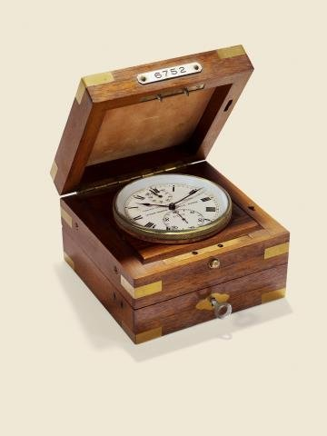"185: ""Two-Day Marine Lever Chronometer"" Ulysse Nardin,"