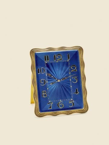 "313: ""Royal Blue Enamel"" ImHof, Swiss, No. 20589. Made"