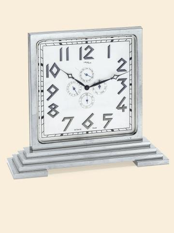 "323: Art Deco Triple Date Calendar"""" ImHof, Swiss, No."