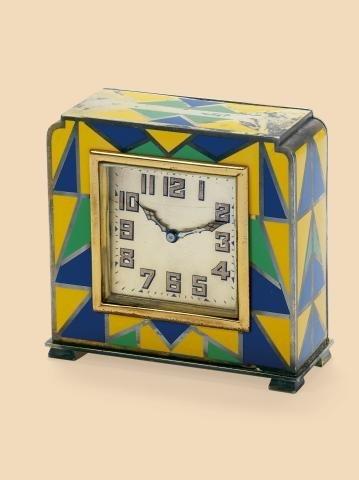 "326: Art Deco Harlequin"""" Swiss. Made circa 1925. Fine"