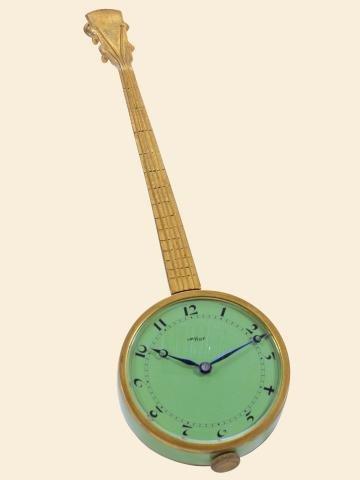 "333: Green Banjo"""" ImHof, Swiss. Made circa 1940. Fine"