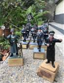 Rare Collection of German WW2 Tin Soldiers, Origin