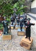 Rare Collection of German WW2 Tin Soldiers 20 in Total.