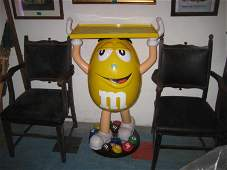 M&M Shop Point-of-Sale Advertising Figure (104cm Tall)