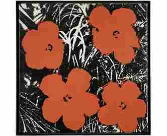 ƒ ANDY WARHOL (1928-1987) FLOWERS, 1964 Peinture