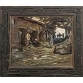 """JACQUES MAJORELLE (1886-1962)  """"SOUK DES PANIERS,"""