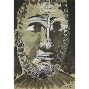 PABLO PICASSO (1881-1973) TÊTE DE JEUNE HOMME