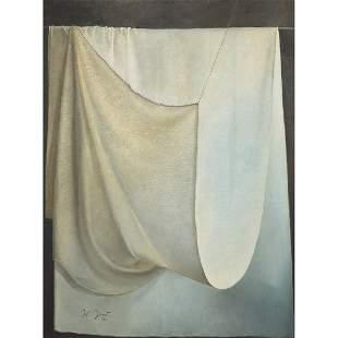 JEAN CLAUDE JANET (1912-2008) DRAPERIE i, 1997 Huile