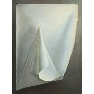 JEAN CLAUDE JANET (1912-2008) DRAPERIE ii, 1997 Huile