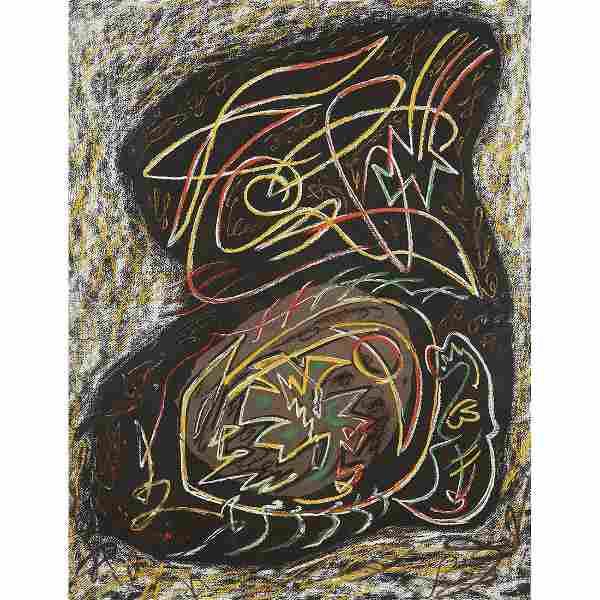ANDRÉ MASSON (1896-1987) GERMINATION COSMIQUE, 1955