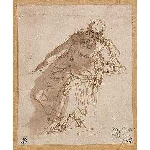 PAOLO CALIARI DIT VERONESE (1528-1588) Figure de femme