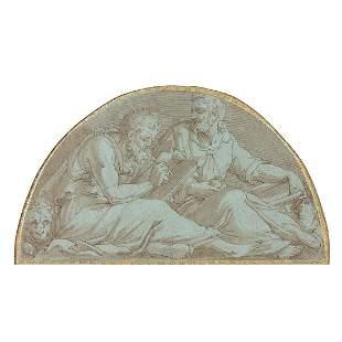 ÉCOLE ITALIENNE DU XVIe SIÈCLE Saint Marc et