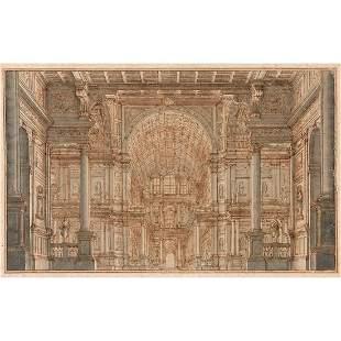 FERDINANDO GALLI DIT BIBIENA (1657-1743) Projet de