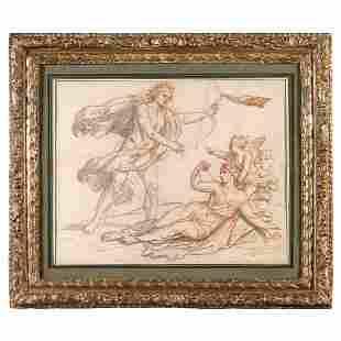 ATELIER DE CHARLES LE BRUN (1619-1690) Apollon et