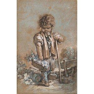 FRANÇOIS BOUCHER (1703-1770) Jeune garçon