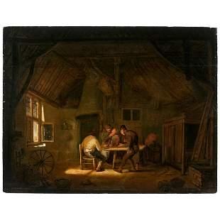 PIETER HERMANSZ VERELST (Dordrecht 1618-1678) Buveurs