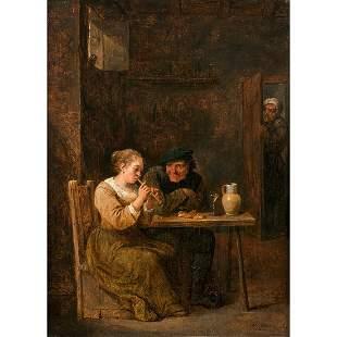 Attribué à David TENIERS (1610-1690) Jeune