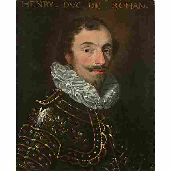 École FRANCAISE vers 1620 Portrait d'homme
