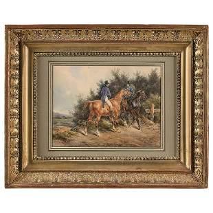 BERNARD ÉDOUARD SWEBACH (Paris 1800-Versailles