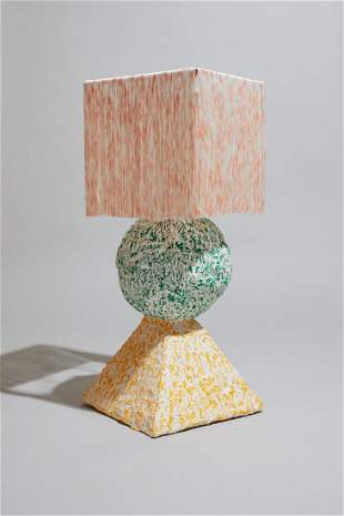Stack Lamp by Hannah Bigeleisen