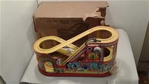 Chein no.275 mechanical Roller Coaster w/ box