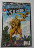 DC Comics Adventures of Superman Funeral for a Friend