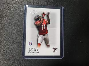 2011 TOPPS LEGENDS #67 JULIO JONES ROOKIE CARD RC ATLAN