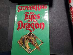 EYES OF THE DRAGON STEPHEN KING W/Signed Card