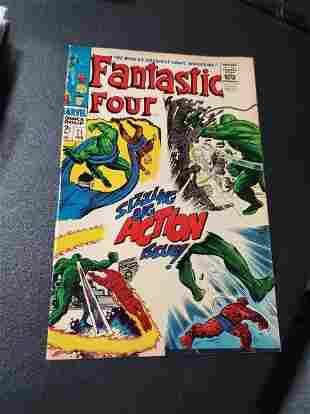 Fantastic Four #71 - Jack Kirby - Stan Lee - Silver Age