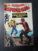 AMAZING SPIDER-MAN #26 1ST CRIME-MASTER SILVER AGE