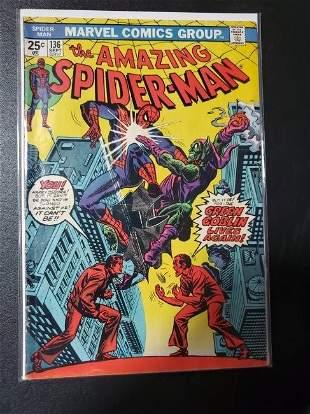 Amazing Spider-Man #136 Marvel Comics 1st app of Harry