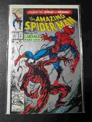 Amazing Spider-Man 361 (1992) 2ND PRINT! 1ST AP CARNAGE