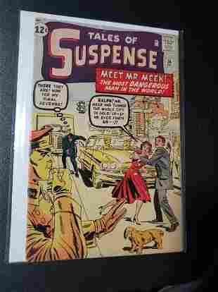 """Tales of Suspense No. 36 """"Meet Mr. Meek"""" Vintage Comic"""