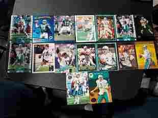 16 Dan Marino Cards Miami Dolphins HOF