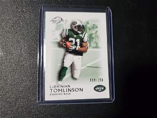 2011 Topps Legends Green New York Jets Football Card