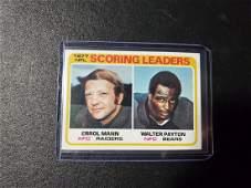 1978 Topps #334 1977 NFL Scoring Leaders Football Card