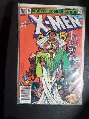 Uncanny X-Men King Size Annual 6 Marvel Comic Book
