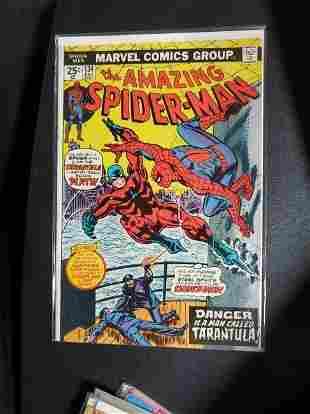The Amazing Spider-Man #134 1st TARANTULA