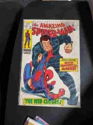 THE AMAZING SPIDER-MAN #73 1ST SILVERMANE, 1ST MAN-MOUN