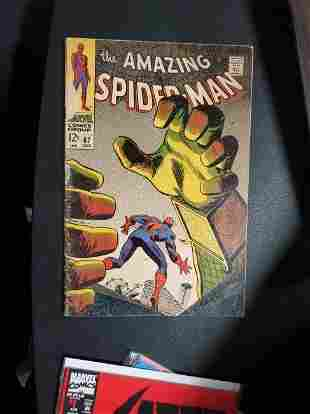THE AMAZING SPIDER MAN # 67 VINTAGE COMIC BOOK 1968