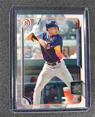 Carlos Correa Bowman Rookie card BP41