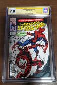 The Amazing Spider-Man 361 CGC 9.8 SS NM Signed Bagley