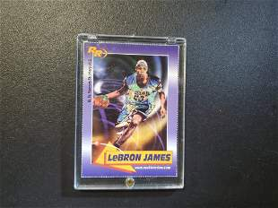 2003 Rookie Review Lebron James RC