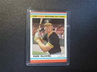 1988 Fleer Record Setters McGwire