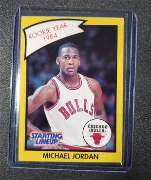 Michael Jordan 1990 Kenner Starting Lineup Rookie Year