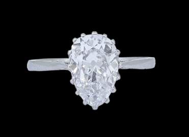 IMPORTANT DIAMOND SOLITAIRE RING