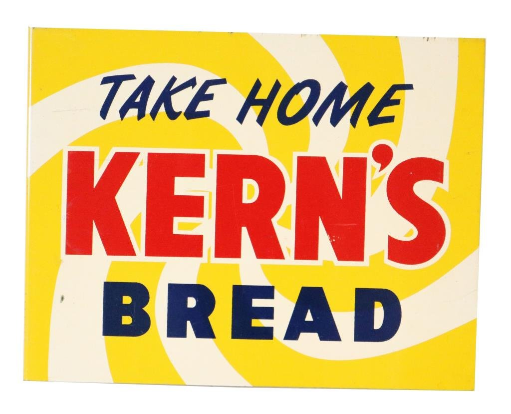 Take Home Kerns Bread Tin Flange Sign
