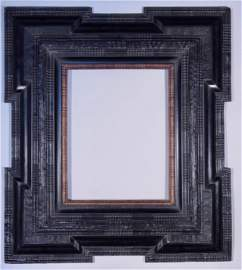 19th Century Dutch Ripple Moulding Frame