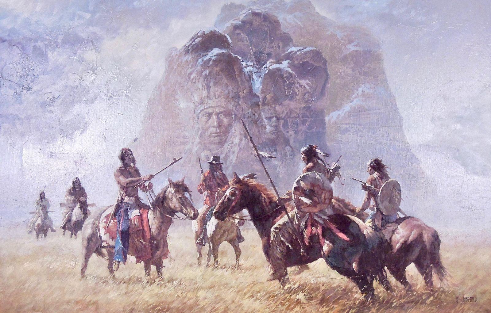 Gerald Bogard, Native American Western Scene