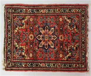Antique Persian Sarouk Prayer Rug